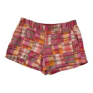 Ann Taylor LOFT Size 10 Pink Plaid Shorts